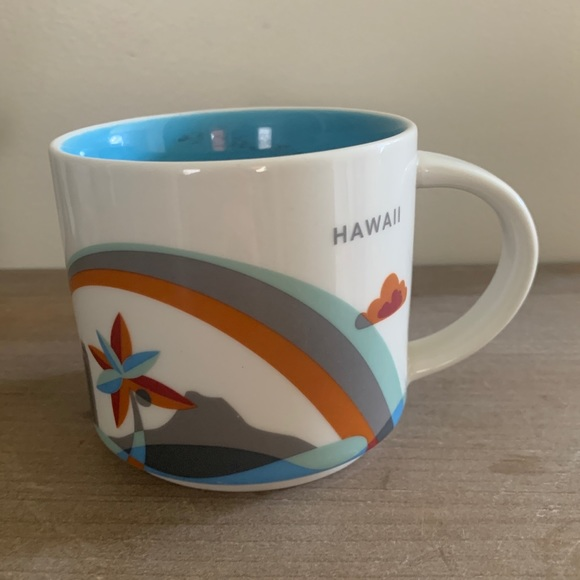 Starbucks Hawaii You Are Here Mug 2014